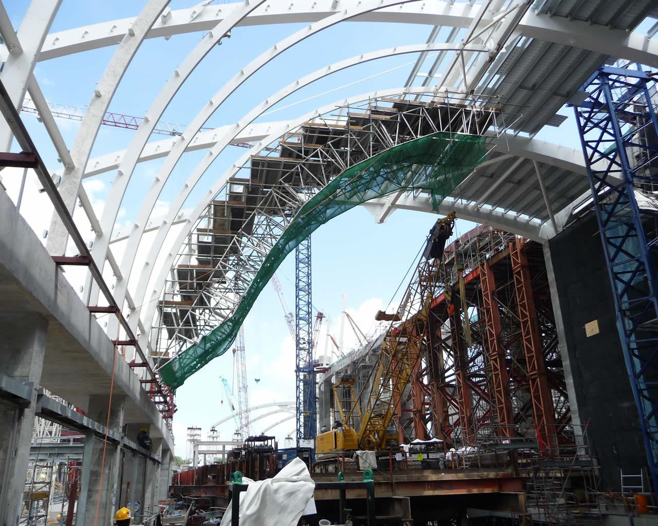 Marina Bay Sands Retail Canopy