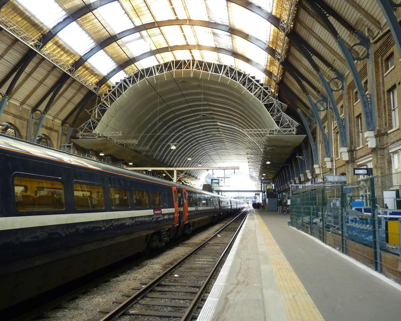 London King S Cross Station