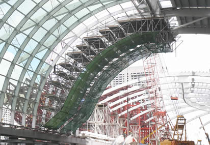 Read more about Marina Bay Sands retail canopy
