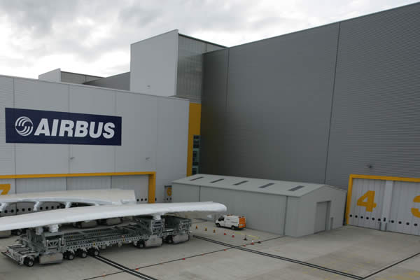 Airbus Temporary Buildings