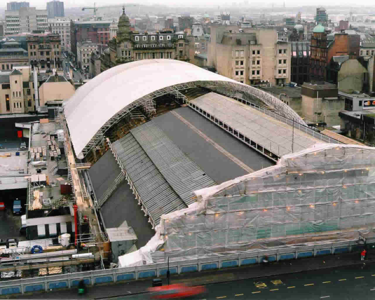 Used Scaffolding For Sale >> Glasgow Queen St Station