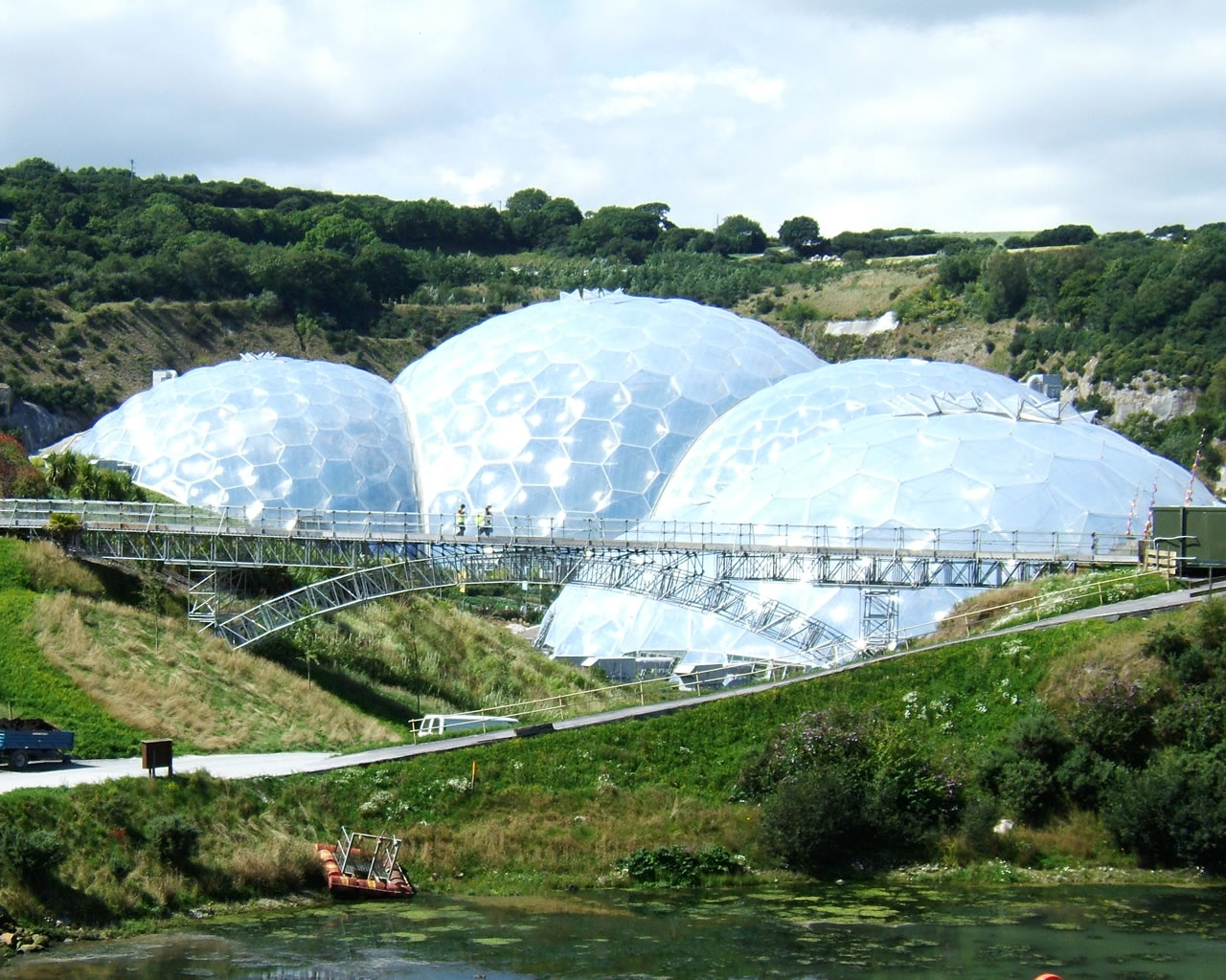 Eden Project Footbridge Cornwall